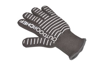 BARBECUE GLOVE, SILICONE COATED - OUTDOORCHEF