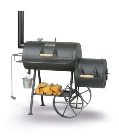 BBQ-Smoker EUROSMOKER - SMOKY FUN