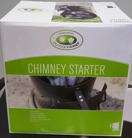 CHIMNEY STARTER - OUTDOORCHEF