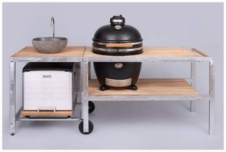 MONOLITH GRILL CLASSIC - black or red