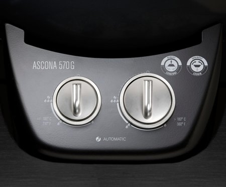 ASCONA 570 G DARK GREY  OUTDOORCHEF - GRILL GAZOWY 9,7 kW: